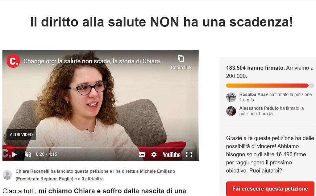 I malati rari dell'Emilia-Romagna come Chiara
